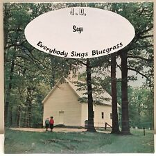 sealed! J.D. Jarvis Says Everybody Sings Bluegrass stereo LP Gospel
