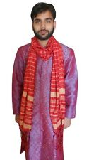 Ethnic Men Scarves Indian Wedding Chunni Dupatta Sherwani Groom Stole