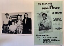 Elvis Gary Pepper Tankers Ad And Vintage Photo / Memphis / Graceland / Rare