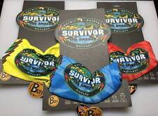 SURVIVOR BUFFS: AMAZON Complete 3 Buff Set - Red, Blue and Yellow - BRAND NEW