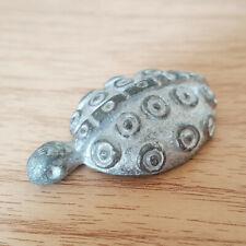 Weird Tiny Tortoise Turtle Figurine Statue Longevity Lucky Charm Animal Reptile