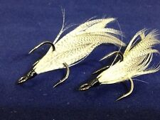 Xmarks Custom Feathered Trebles Gamakatsu S-Shank RB ME Size 2 Fish Tail