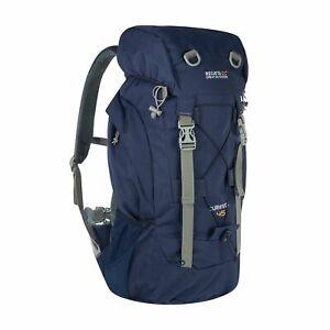 Regatta Adults Survivor III 45 Litre Adjustable Hiking Rucksack - Navy