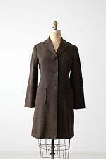 Parallel wool coat, brown three-quarter jacket size 6