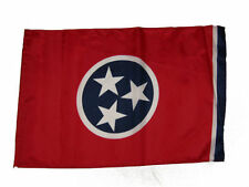 """12x18 12""""x18"""" State of Tennessee Sleeve Flag Boat Car Garden"""