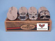 (8) GM CHEVROLET GM GENIII 6.2 L92 NEW ENGINETECH HYPEREUTECTIC PISTONS P5076