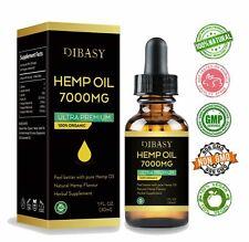 7000mg Ultra Premium Pure Hemp Seed Oil 30Ml Free Postage hemp oil drops