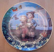 Danbury Mint Hummel Little Companions Surprise Collector Plate