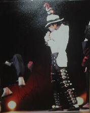 Michael Jackson In-Person AUTHENTIC 16 x 20 Autographed Photo COA SHA #20822