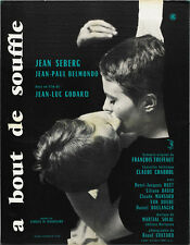 Breathless A bout de souffle 1960 Jean-Luc Godard #11 movie poster 24x32 inches