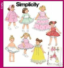 "Simplicity 3576 8"" Doll Vintage Clothes Pattern"