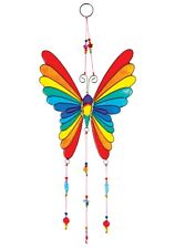 **Beautiful** Fair Trade Butterfly Rainbow Suncatcher 14 x 34 cm