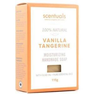 Scentuals Bar Soap 115g - Vanilla Tangerine