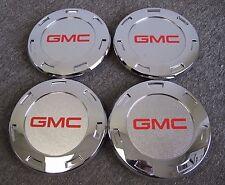 """GMC CENTER CAPS FOR 22"""" ESCALADE CHROME WHEELS RIMS 5309 SET OF FOUR NEW 4"""