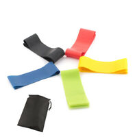 Resistance Band Elastic Loop Training Bands Workout Fitness Sport Gym Excercise