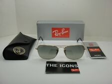 19e5fa2d6d RAY-BAN CARAVAN SUNGLASSES RB3136 181 71 GOLD FRAME GREY GRADIENT LENS 58MM