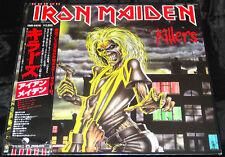 Iron Maiden Killers Sealed Vinyl Record Lp Japan 1981 1st Press Obi Poster