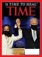 TIME MAGAZINE NOVEMBER 23 2020-A TIME TO HEAL JOE BIDEN/KAMALA HARRIS
