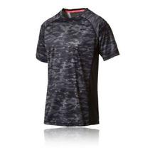 Abbigliamento da uomo grigie PUMA per palestra, fitness, corsa e yoga taglia S