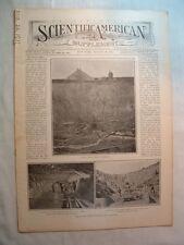 Scientific American S-8/26 1911-Umbrellas-Lotschberg Tunnel-Cornwall Potter Clay