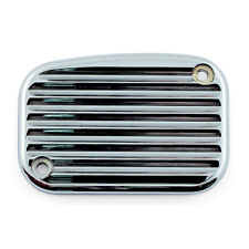 ARLEN NESS RETRO MASTER CYLINDER COVER, CHROME FOR HARLEY DAVIDSONS (03-449)