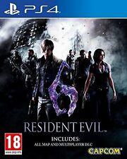 RESIDENT EVIL 6  HD PS4 NUEVO ESPAÑOL PRECINTADO CASTELLANO  NEW