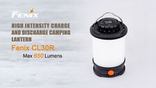 New Fenix CL30R 650 lumens LED Camping Lantern Light USB Power Bank (NO battery)