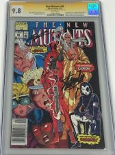 New Mutants #98 Newsstand Signed Stan Lee & Rob Liefeld CGC 9.8 SS 1st Deadpool