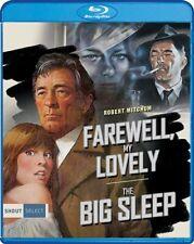 FAREWELL MY LOVELY + THE BIG SLEEP New Blu-ray Robert Mitchum Philip Marlowe