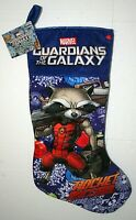 Marvel Guardians of the Galaxy Flashing Musical Christmas Holiday Stocking New