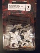 Citadel Warhammer Blood Dragon Vampires Foot & Mounted Blister Metal OOP 91-38