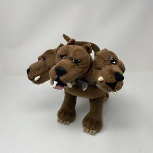 "Harry Potter Gund 10"" Plush Fluffy 3 Headed Plush Dog Stuffed Animal"
