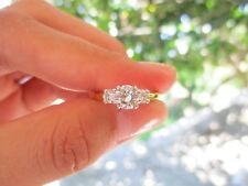 .80 Carat Diamond Twotone Gold Engagement Ring 14k codeER118 sepvergara