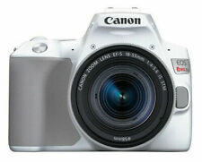 Canon EOS Rebel SL3 24.1MP Digital SLR Camera - White (with 18-55mm lens)