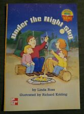 MCGRAW HILL Leveled BK SCIENCE 1st GRADE 1 READER Under the Night Sky Homeschool