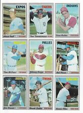 ***1970 Topps 6th Series Baseball PICK LOT-YOU Pick any 1 of 26 cards for $2!