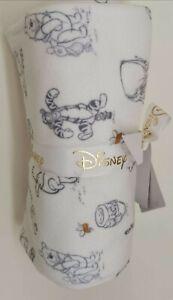 Disney Winnie the Pooh Fleece Baby Blanket Adorable Newborn Gift NEW
