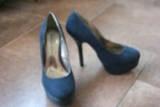 Ladies Navy Court Shoes - Size 4 - Dorothy Perkins