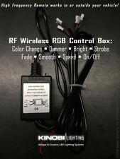 RF MultiColor RGB Control Box for Kinobi Lighting angel eyes kits - 4 Connectors