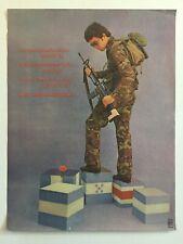 Political POSTER.Original OSPAAAL Solidarity Cuban propaganda art.Latin America