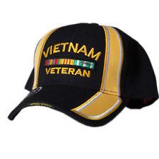 68138d72a72 US Honor Embroidered Racing Vietnam Veteran Bar Baseball Caps Hats
