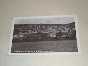 EARLY 1915 REAL PHOTO PC - VIEW CROWBOROUGH STATION & JARVIS BROOK, SUSSEX