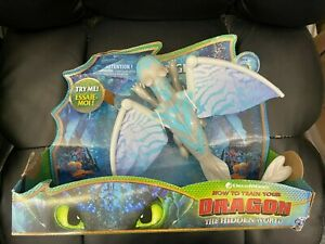 How To Train Your Dragon The Hidden World Lightfury Deluxe Lights and Sounds