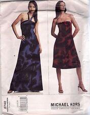 Vogue Designer Sewing Pattern 2740 Michael Kors Dress, Sizes 14-18, Uncut