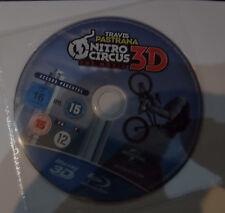 Nitro Circus 3D (JUST DISC)(Blu Ray) Free  postage