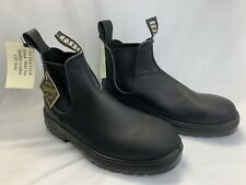 Rossi 791 Centaur Mens Size 8 Steel Toe Safety Boots Buffalo Leather