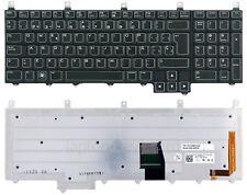 OEM Español Teclado Dell Alienware M17X R1 R2 R3 R4 M18x R1 R2 / DE167-SPZ
