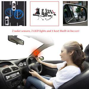 Auto Blind Spot Detection Truck Rear View Mirror Sensor Radar Monitoring System