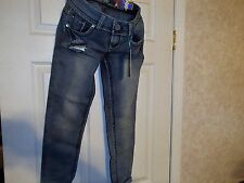 New with tags Juniors Size 3 Jeans Almost Famous Brand Stone Washed