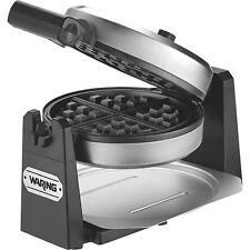 Waring Pro Stainless Steel single Belgian Waffle Maker Baker WWM450PC